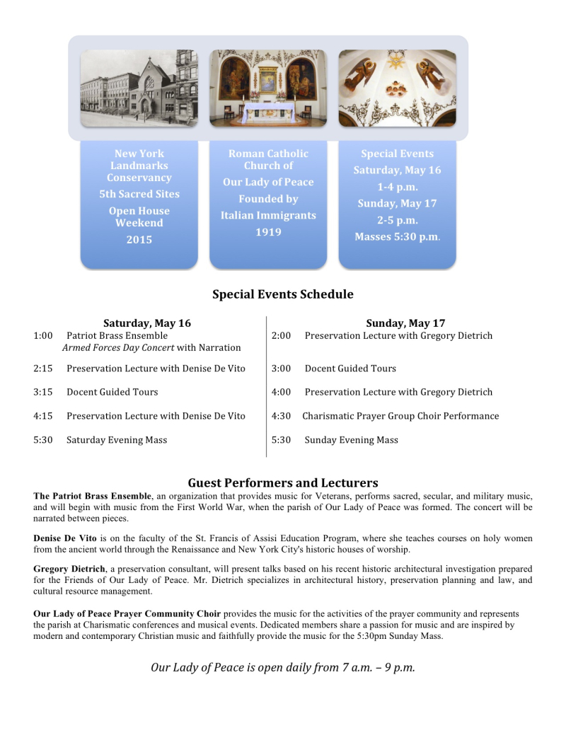 Sacred Sites Events