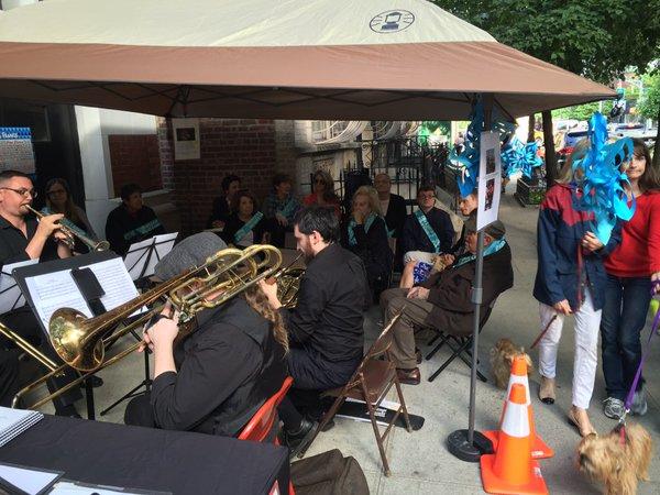 Patriot Brass performs - TE McLaughlin