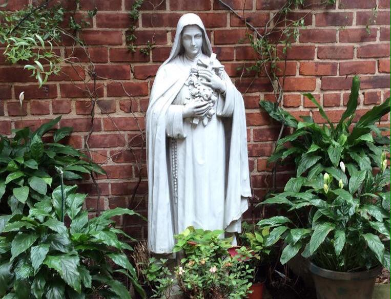 St. Therese Liseaux in the Garden of Our Lady of Peace