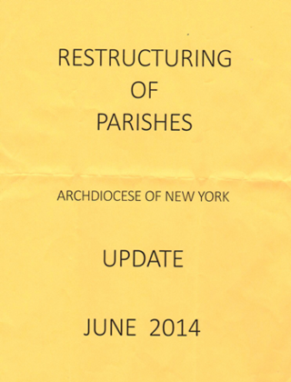 OLP - Restructuring of Parishes Report