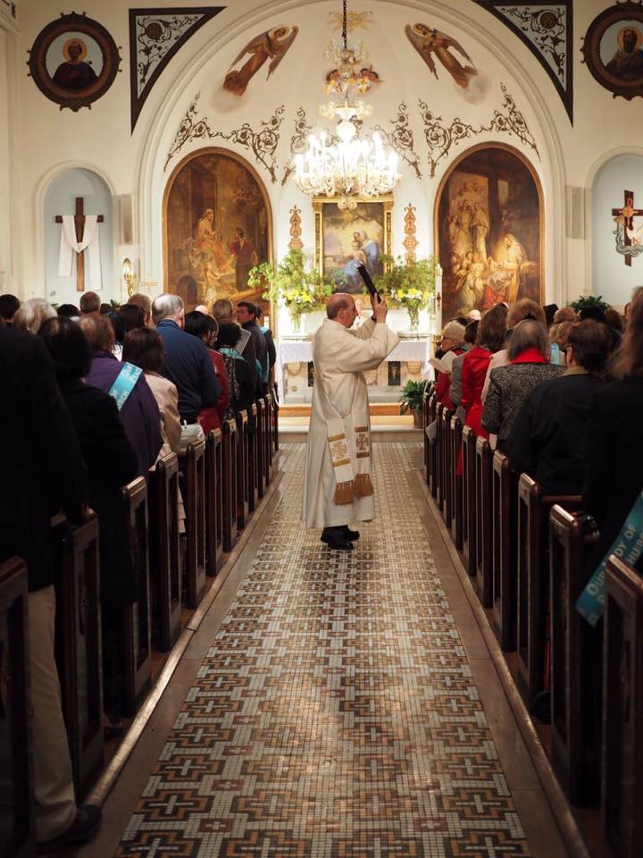 Blessing the People - Founders Day Mass - Steven Moy